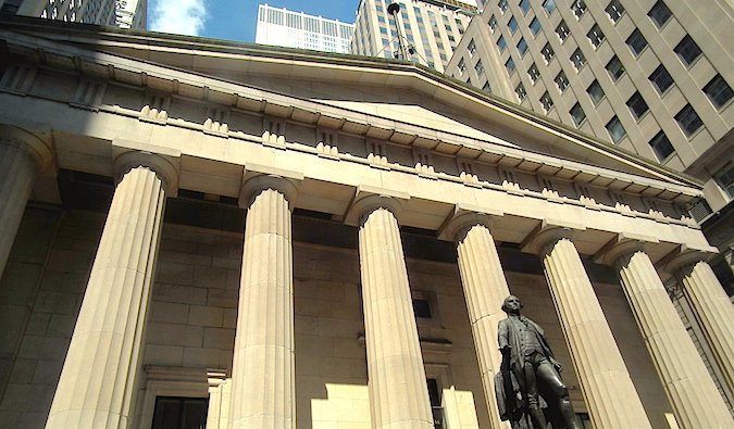 Federal Hall in NYC