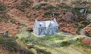 The Old Schoolhouse: 'I kept the wood-burning stove alight during my whole stay.'