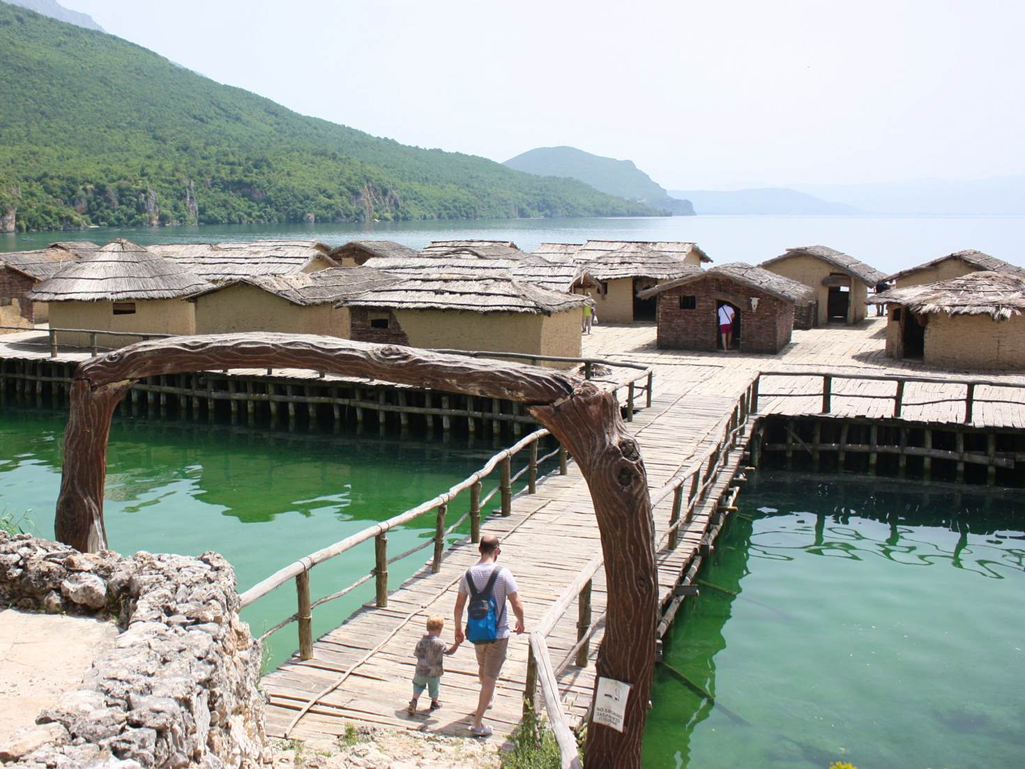 The Museum on Water in Lake Ohrid's Bay of Bones © Lorna Parkes / Lonely Planet