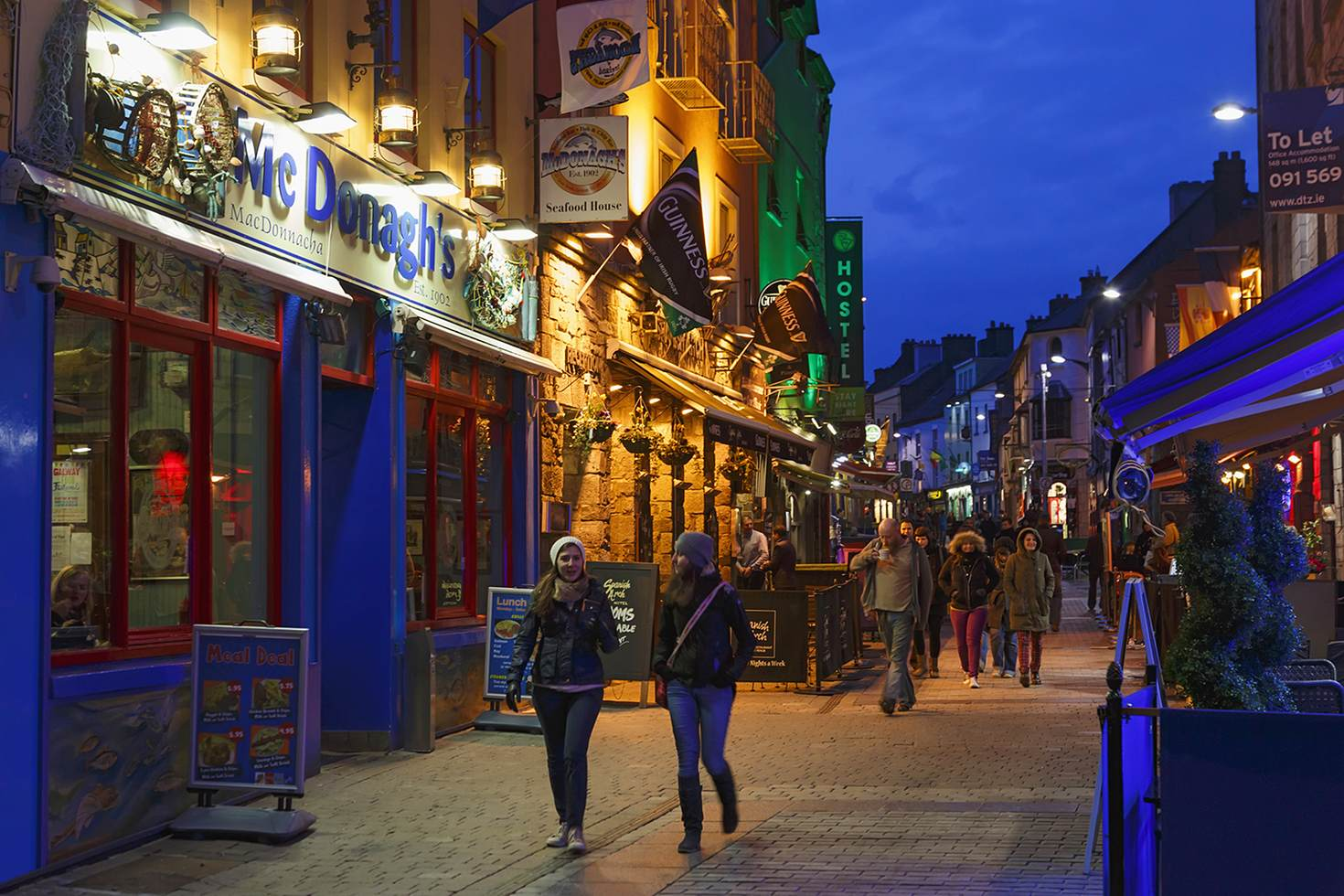 Galway city is a swirl of enticing old pubs humming with trad music sessions