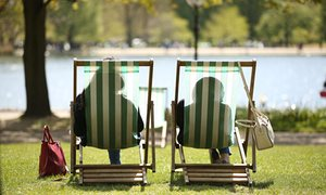 'If you spend money on parks and green spaces, people will be healthier and not need the NHS so much.'