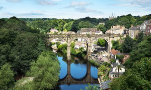 The Nidd at Knaresborough.