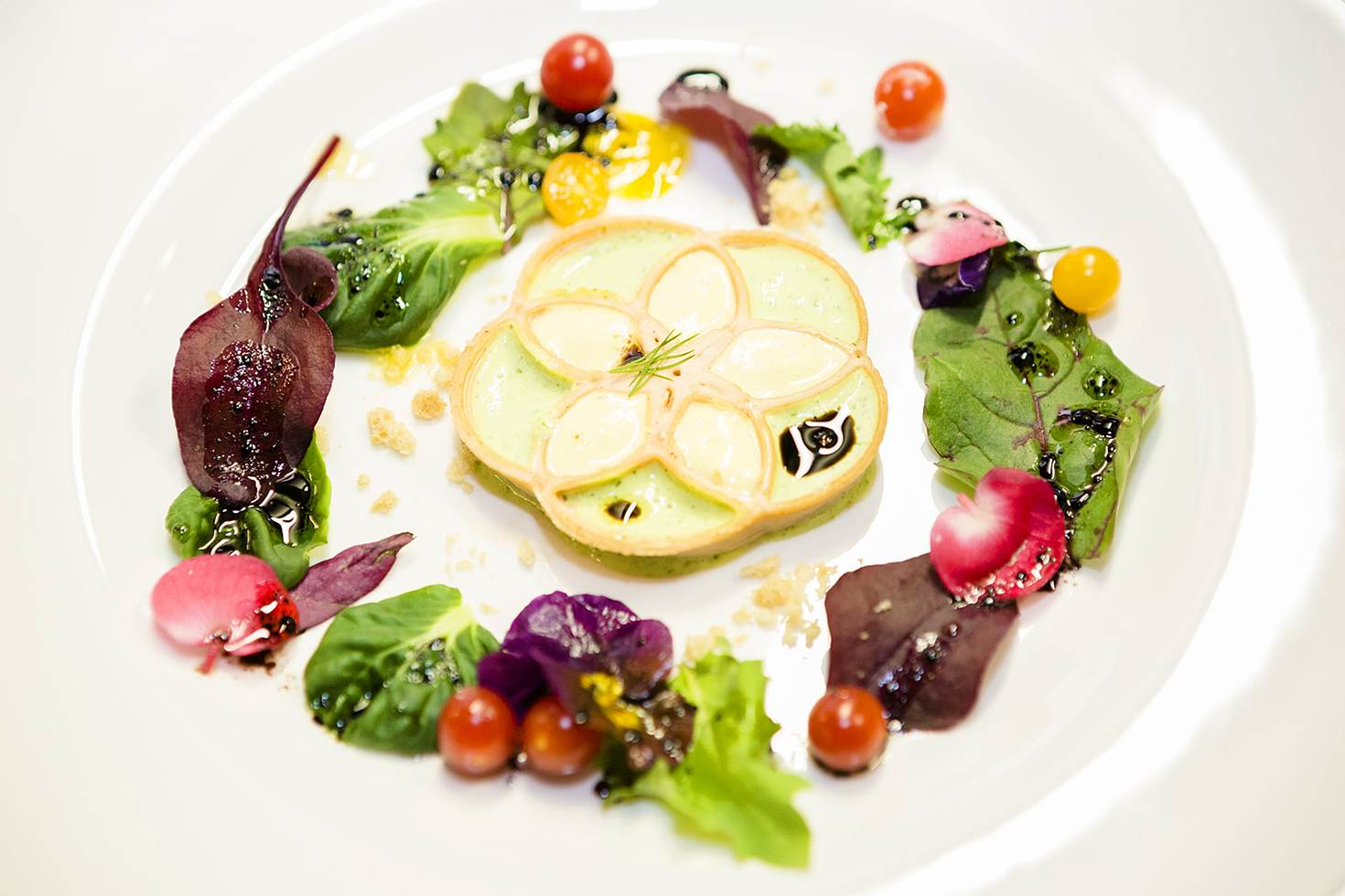One of delicacies from Food Ink's first meal in Amsterdam © Frederik Buyckx