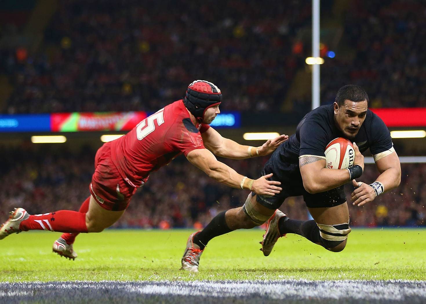 Get close to the All Blacks' action in the new immersive experience © Michael Steele / Getty Images