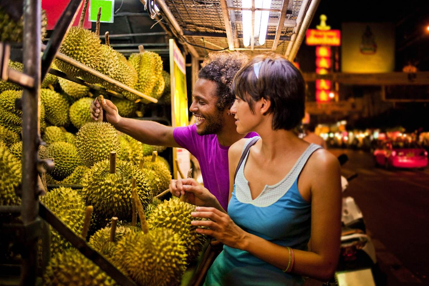 Durian: how bad can it be? Try it to find out! © Jim Purdum / Getty Images