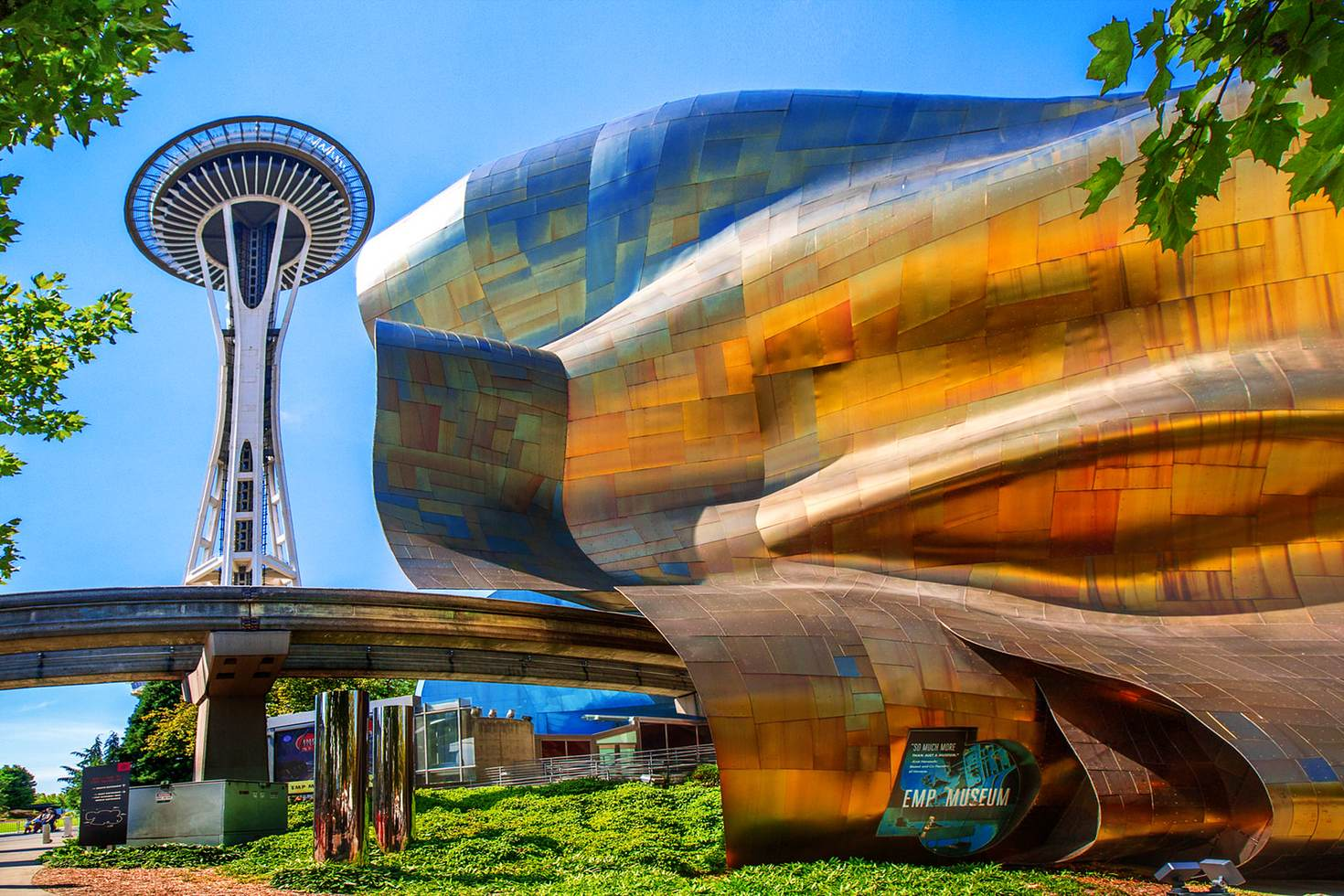 EMP Museum Building, Seattle © Artie Photography (Artie Ng) / Getty Images