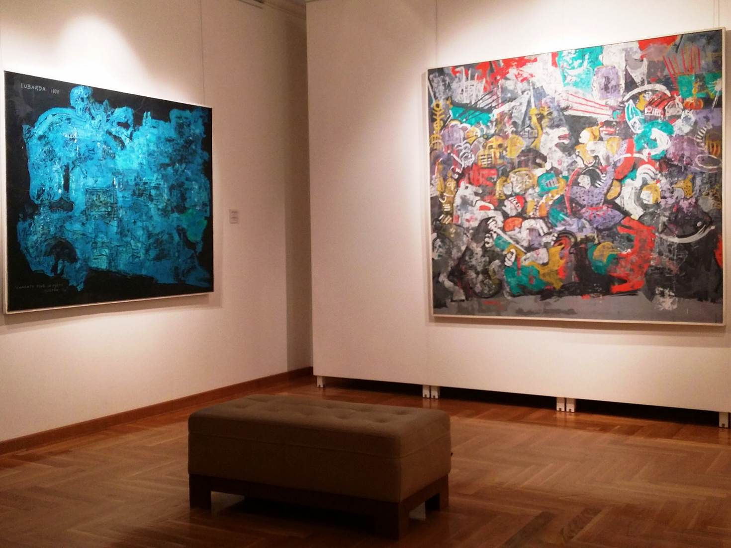 Expressionist paintings at the Legacy of Petar Lubarda © Mladen Savkovic / Lonely Planet