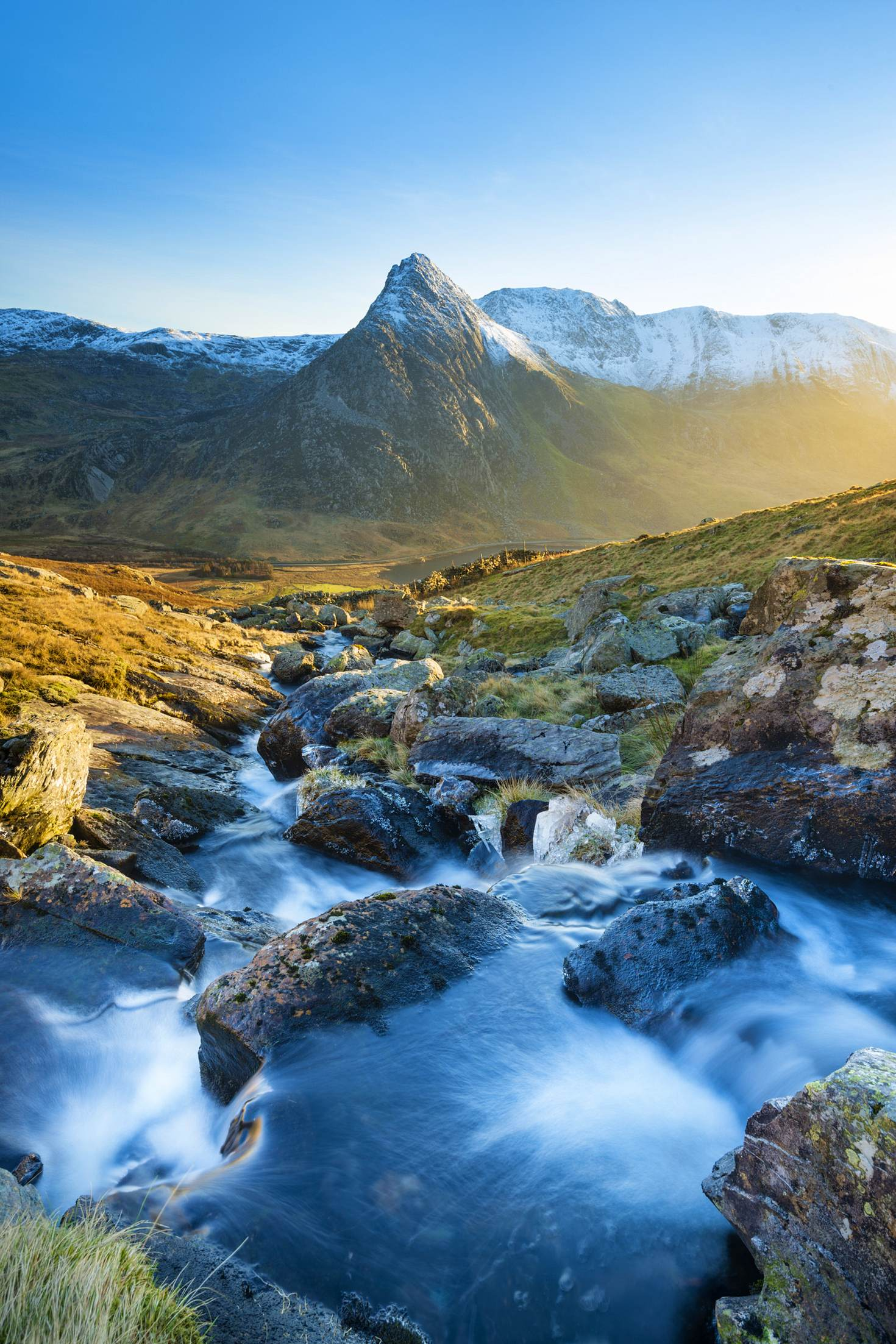 Tryfan – the name derives from the Welsh for 'three rocks', referring to the mountain's three distinct humps © Justin Foulkes / Lonely Planet