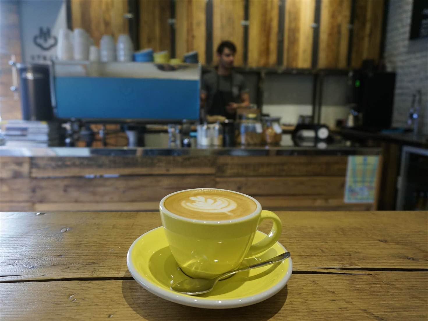The Steam Coffee Shop has two Bucharest locations © Monica Suma / Lonely Planet