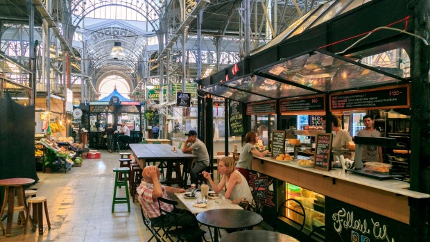 Don't rise early: Buenos Aires' famous San Telmo market.