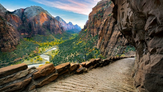 Angel's Landing trail, Zion National Park.
